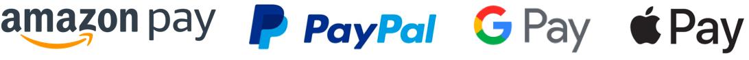 このサイトではAmazonPay,PayPal,GooglePay,ApplePayでの決済が可能です